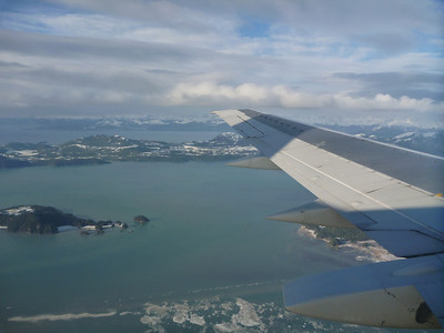 Flying into Cordova from