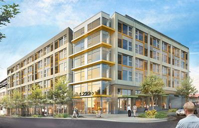 rendering large S First Look: Citizen Apartments on Capitol  Hill