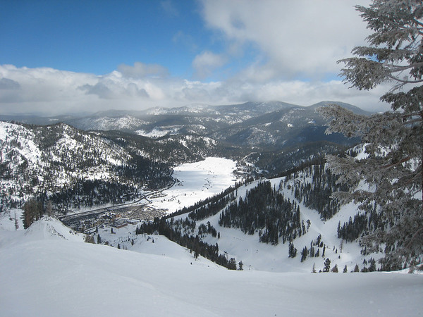 View from Squaw Valley