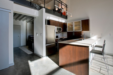Veer Lofts Kitchen
