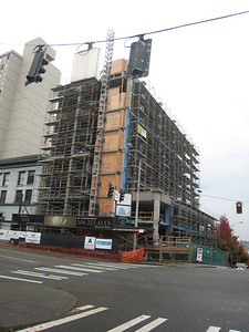 The Alex in Belltown Construction Progress